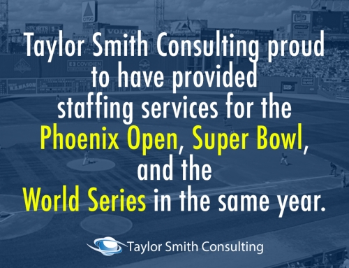 Taylor Smith Consulting Staffs for 3 Major Sports Championships in One Year